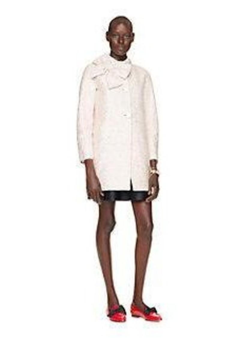 Kate Spade sequin tweed dorothy coat