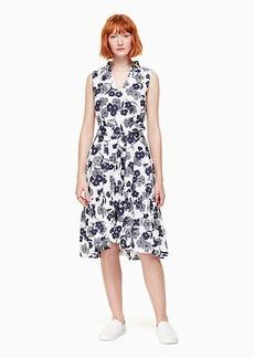 Kate Spade shadows poplin dress