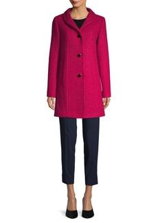Kate Spade Shawl Collar Wool-Blend Coat