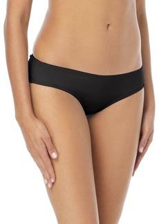 Vince Camuto Shirred Smooth-Fit Cheeky Bikini Bottom