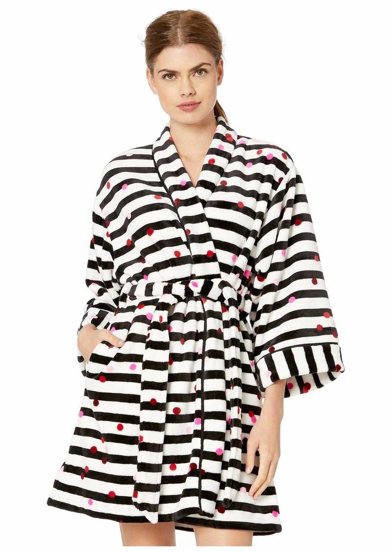 Kate Spade Short Plush Robe