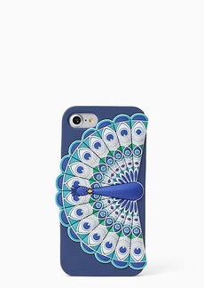 Kate Spade silicone peacock iphone 7 case