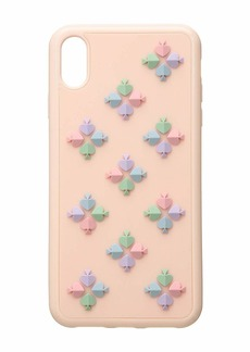 Kate Spade Silicone Spade Flower Phone Case for iPhone XS Max