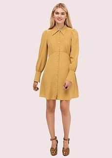 Kate Spade silk point collar shirtdress