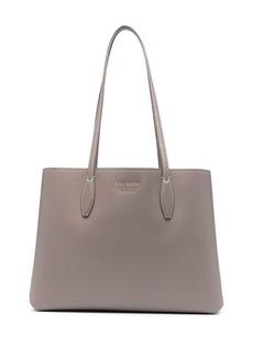 skinny handle tote bag