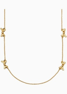 Kate Spade Skinny Mini Bow Scatter Necklace