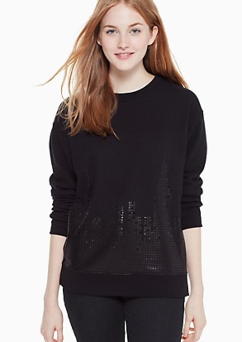 Kate Spade skyline sweatshirt