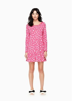 Kate Spade sleepshirt and sleepmask set