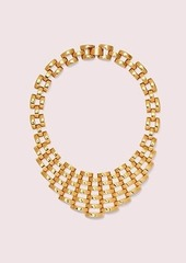 Kate Spade sliced scallops statement necklace