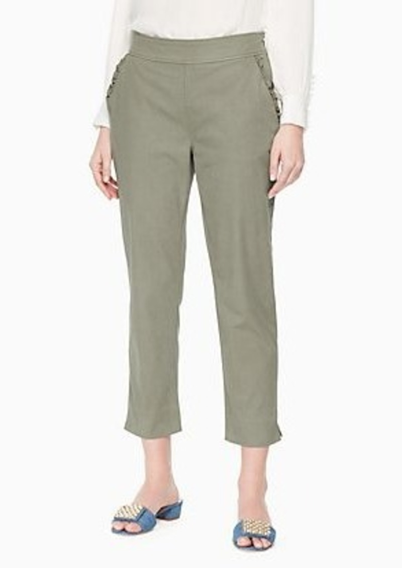 Kate Spade slim straight chino
