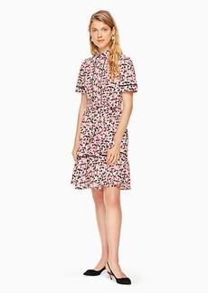Kate Spade small blooms poplin dress