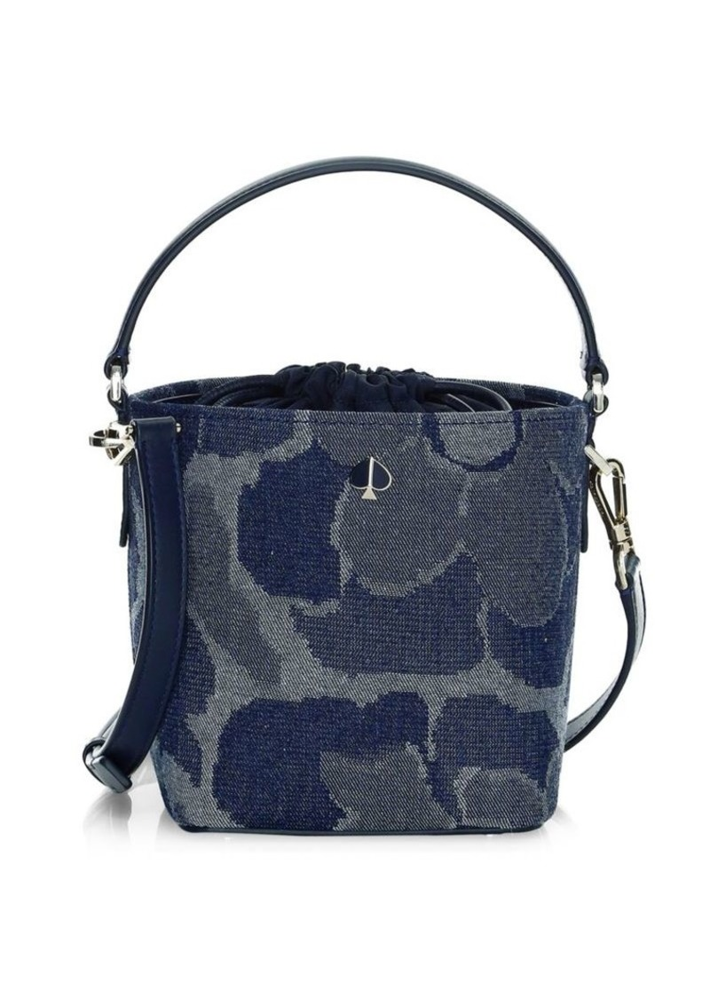 Kate Spade Small Pippa Denim Bucket Bag