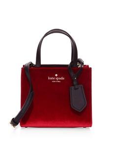 Kate Spade Small Sam Velvet Tote Bag