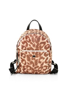 Kate Spade Small Taylor Leopard-Print Backpack