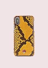 Kate Spade snake embossed iphone xs case