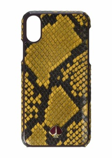 Kate Spade Snake Embossed Phone Case for iPhone XS