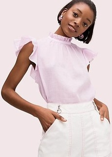 Kate Spade solid high neck top