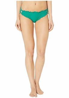 Kate Spade Solids Ruffle Edge Bikini Bottoms