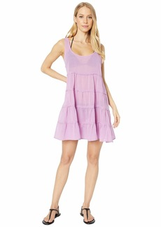 Kate Spade Solids Tiered Cover-Up Dress