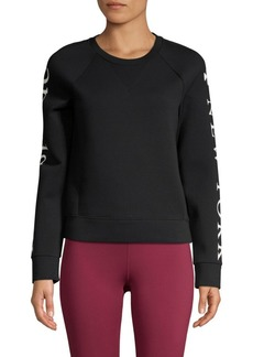 Kate Spade Spacer Knit Logo Top