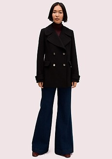 Kate Spade spade button peacoat
