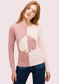 Kate Spade spade colorblock sweater
