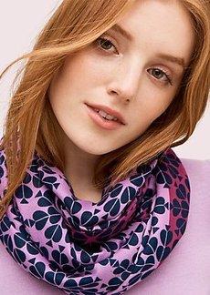 Kate Spade spade damask oblong scarf