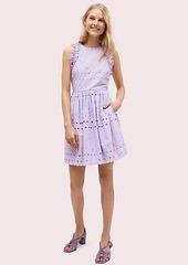 Kate Spade spade eyelet mini dress