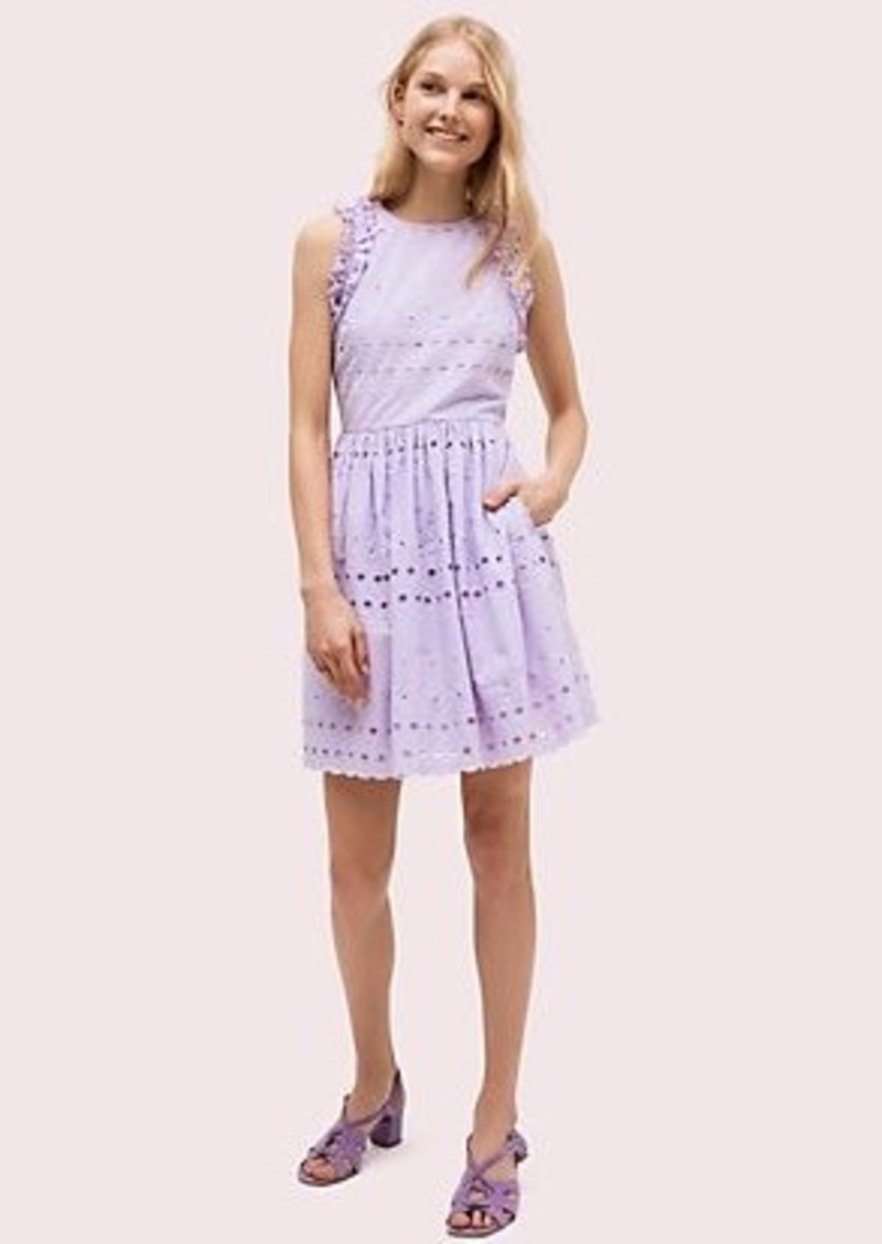 Kate Spade spade eyelet mini dress