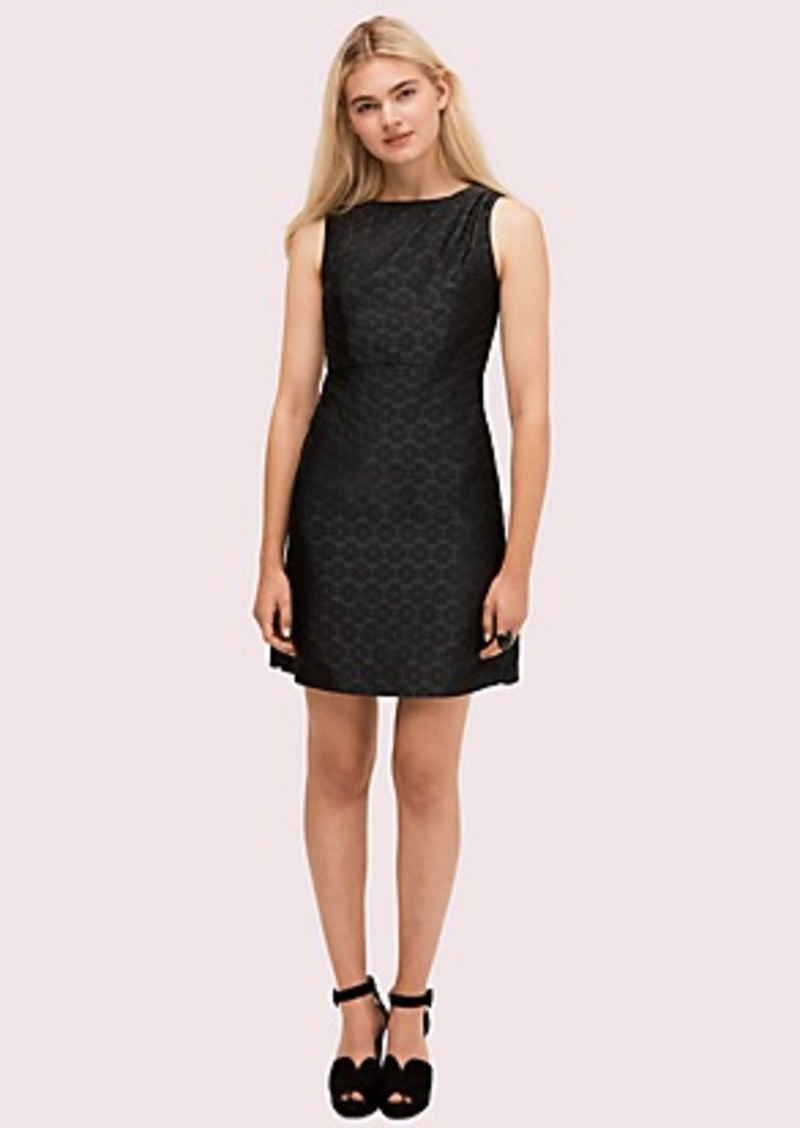 Kate Spade spade flower jacquard dress