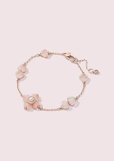 Kate Spade spade flower linear bracelet