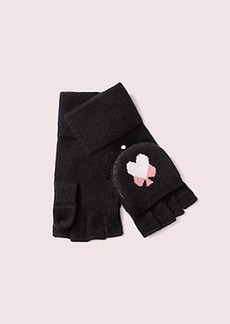 Kate Spade spade heart pop top gloves