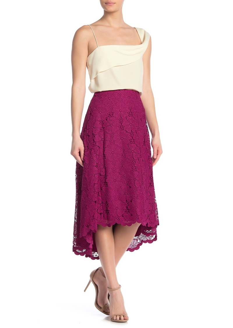 Kate Spade Spade Lace High/Low Skirt