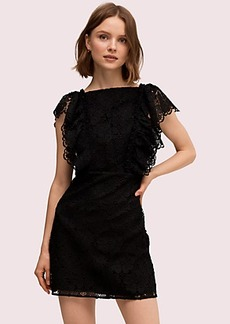 Kate Spade spade lace mini dress