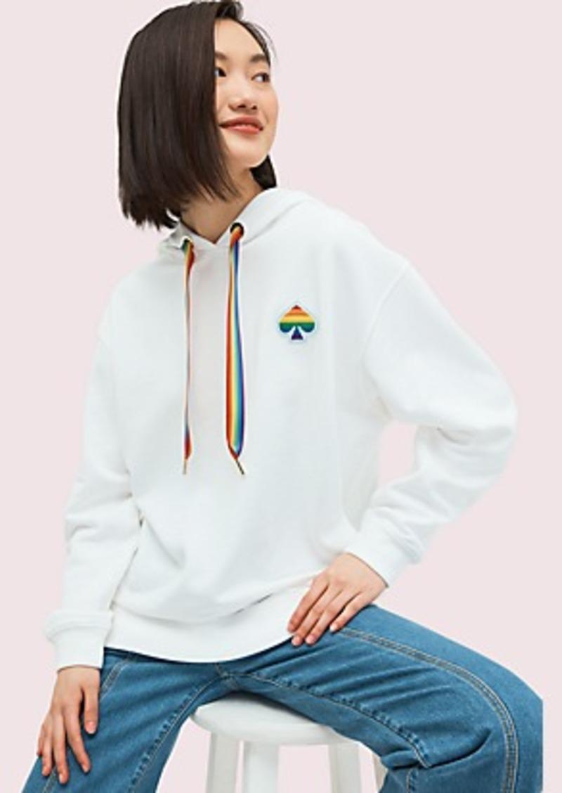 Kate Spade spade rainbow hoodie