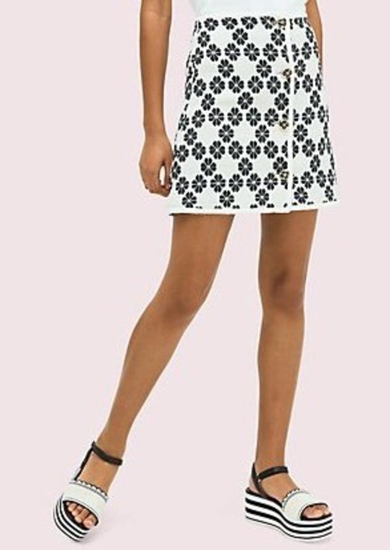 Kate Spade spade tweed skirt