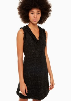 Kate Spade sparkle tweed dress