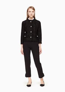 Kate Spade sparkle tweed jacket