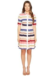 Kate Spade Spice Things Up Berber Stripe Shirtdress