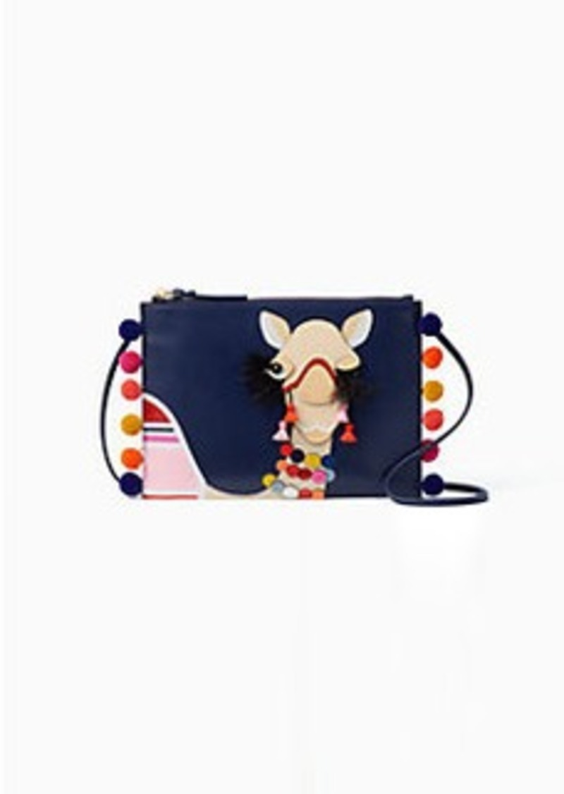 Kate Spade E Things Up Winking Camel Pouch
