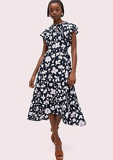 Kate Spade splash flutter sleeve dress