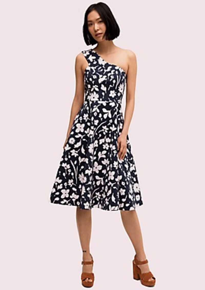 Kate Spade splash one-shoulder dress