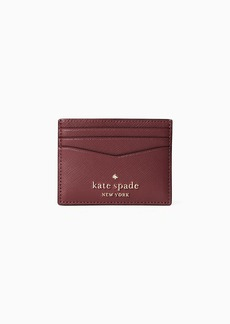 Kate Spade staci picture dot small slim card holder