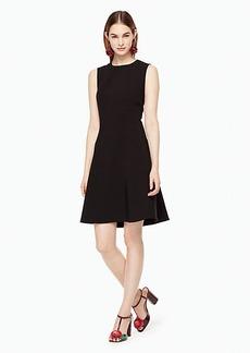 Kate Spade stretch crepe flip dress