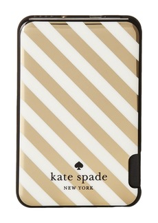 Kate Spade Stripe Slim Battery Bank