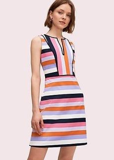 Kate Spade sunset stripe jacquard dress