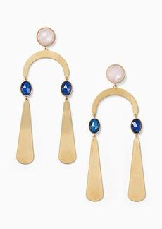 Kate Spade sunshine stones mobile statement earrings