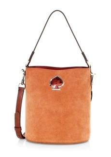 Kate Spade Suzy Suede Bucket Bag
