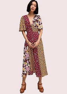 Kate Spade swing flora mix dress