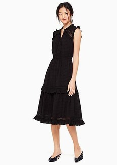 Kate Spade swiss dot sleeveless dress